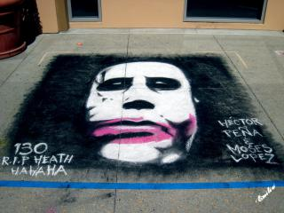R.I.P. Heath Ledger by Flickr user Emily Stanchfield