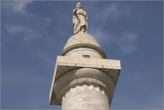 Top of the Washington Monument Baltimore (MD) 2012 by Flickr user Ron Cogswell