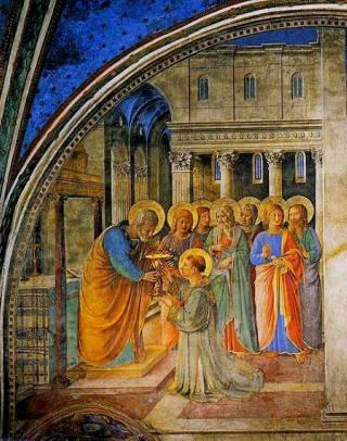 7 Deacons by Fra Angelico ca. 1449 by Flickr user FotoGuy 49057