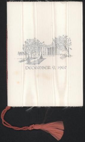 Wedding Program Cover, 9 December 1967 by Flickr user Marine Corps Archives & Special Collections