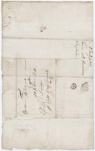 [Autograph letter signed to] Sir William Blathwayt, Boston,  1703 July 7 by Flickr user Beinecke Flickr Laboratory