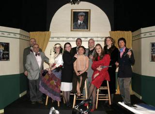 Cast of Musical Comedy Murders of 1940 by Flickr user miguelb