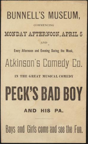 Atkinson's Comedy Co., his pa. (back) by Flickr user Boston Public Library