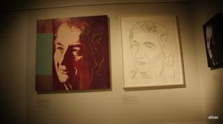 Golda Meir by Andy Warhol by Flickr user photosam88