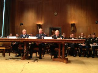National Guard Leaders speak on Capitol Hill by Flickr user The National Guard