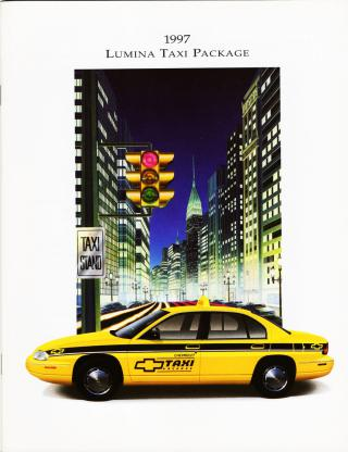 1997 Chevrolet Lumina Taxi Package by Flickr user aldenjewell