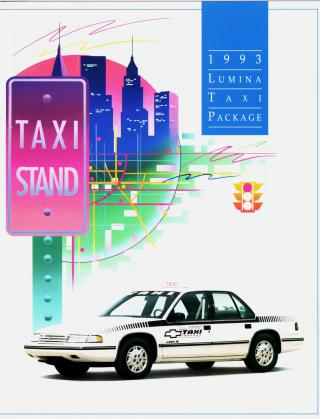 1993 Chevrolet Lumina Taxi Package by Flickr user aldenjewell
