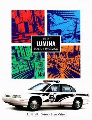 1998 Chevrolet Lumina Police Package by Flickr user aldenjewell
