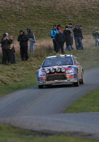 WRC Wales Rally GB 2010 by Flickr user bobaliciouslondon