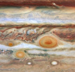 Jupiter's Red Spot by Flickr user NASA Goddard Photo and Video