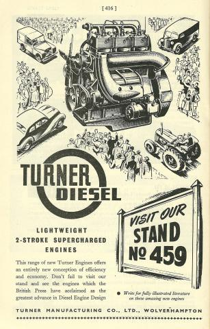 Turner Diesel by Flickr user Hugo90