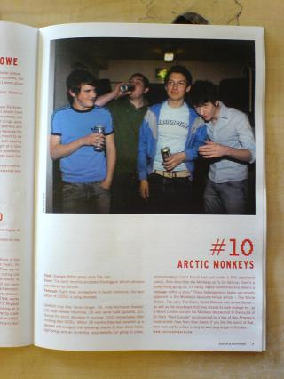 Arctic Monkeys Article by Flickr user shrff