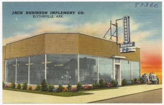 Jack Robinson Implement Co., Blytheville, Ark. by Flickr user Boston Public Library