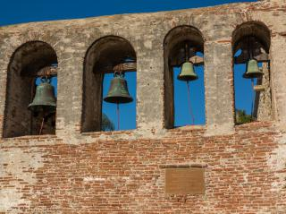 Mission San Juan Capistrano by Flickr user Tim Buss