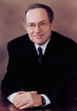 Alan Dershowitz by Flickr user Huntington Theatre Company