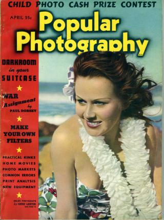 Popular Photography magazine cover April 1939 by Flickr user Nesster