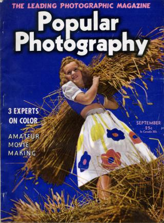 Popular Photography September 1940 Cover by Flickr user Nesster