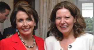 Nancy Pelosi und Erika Mann by Flickr user erikamann_mep