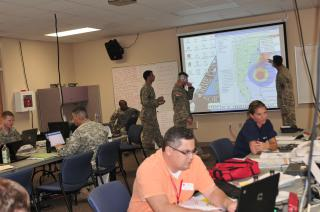 North Carolina Emergency Management Eastern Branch Office by Flickr user The National Guard