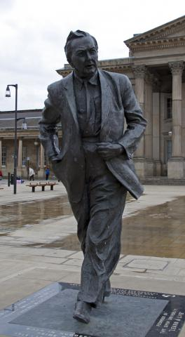 Harold Wilson by Flickr user ahisgett