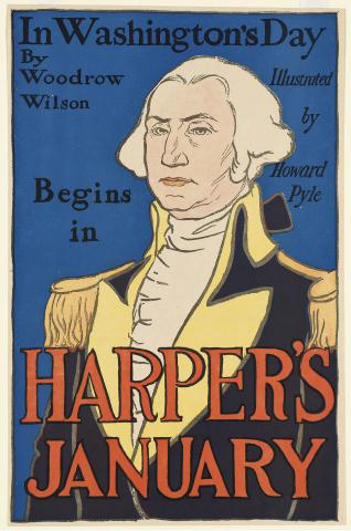 In Washington's day by Woodrow Wilson begins in Harper's January by Flickr user Boston Public Library